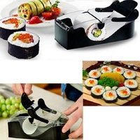 Newest DIY Sushi Roller Cutter Perfect Machine Roll Magic Maker Kitchen Tool Gadgets Free Shipping Ss871