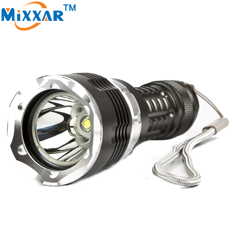 ZK20 Diving LED Flashlight Torch CREE XM-L2 5000LM 4 Modes Zoomable Lantern Waterproof 120m Military Grade Underwater Flashlight zk30 led cree xm l2 diving 5000lm flashlight dive torch military lamp waterproof underwater 120m torch for diving lantern