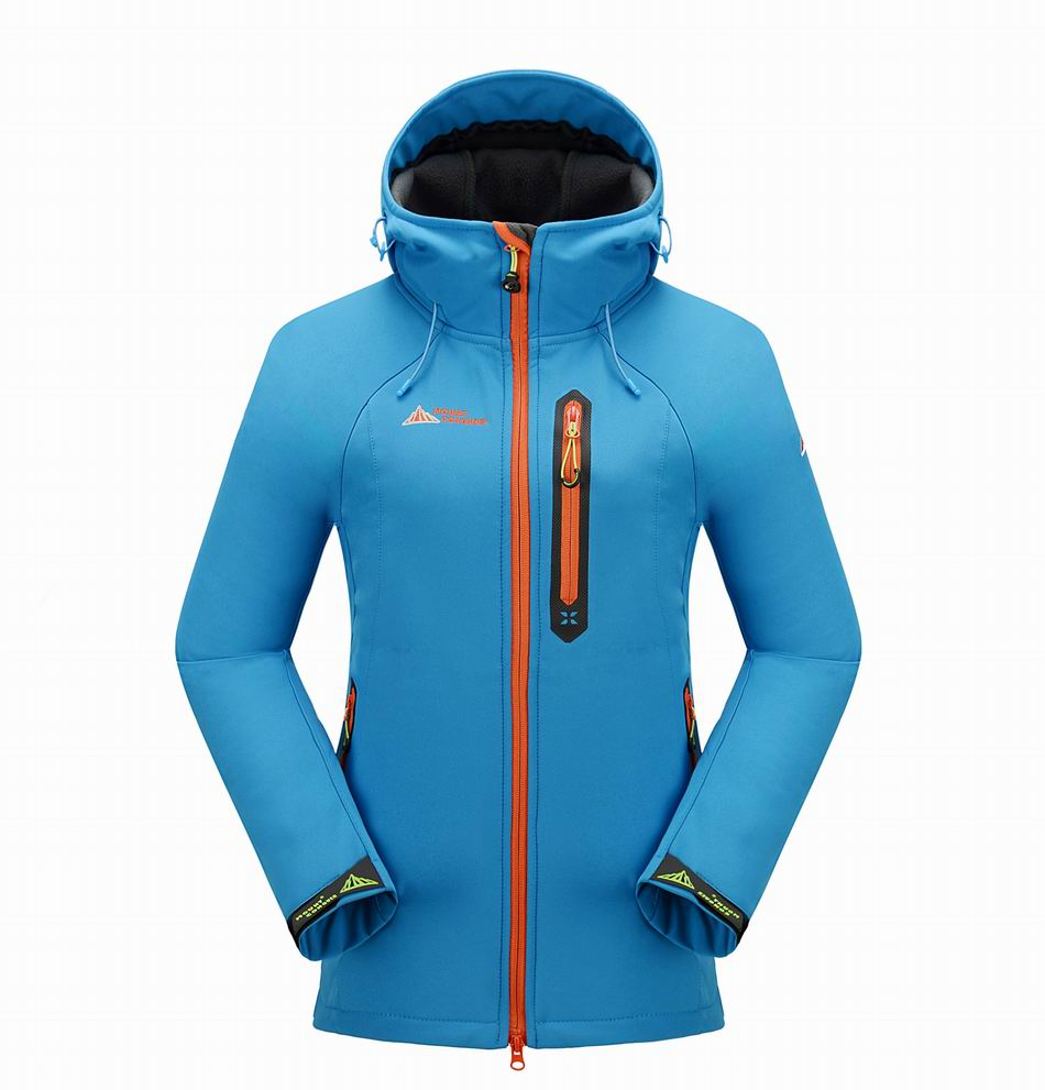 new women outdoor hiking jackets softshell windstopper waterproof  warm windbreaker  high quality free shipping