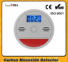 SmartYIBA High Sensitive Independent LCD Display Carbon Monoxide CO Detector CO Gas Leak Sensor&Detector Alarm