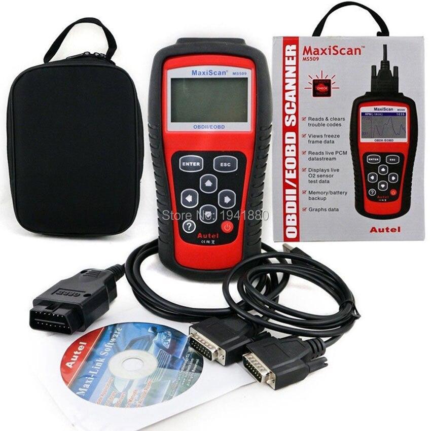 Prix pour MaxiScan MS509 KW808 OBD2 OBDII EOBD Scanner Lecteur de Code De Voiture Testeur De Diagnostic