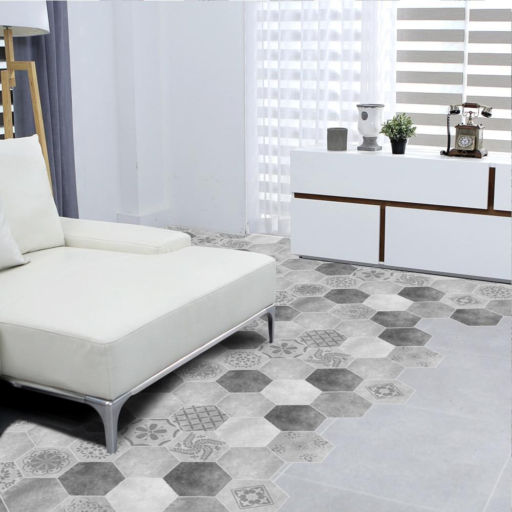 Funlife 30 pz nuova imitazione di cemento pavimento di piastrelle ...