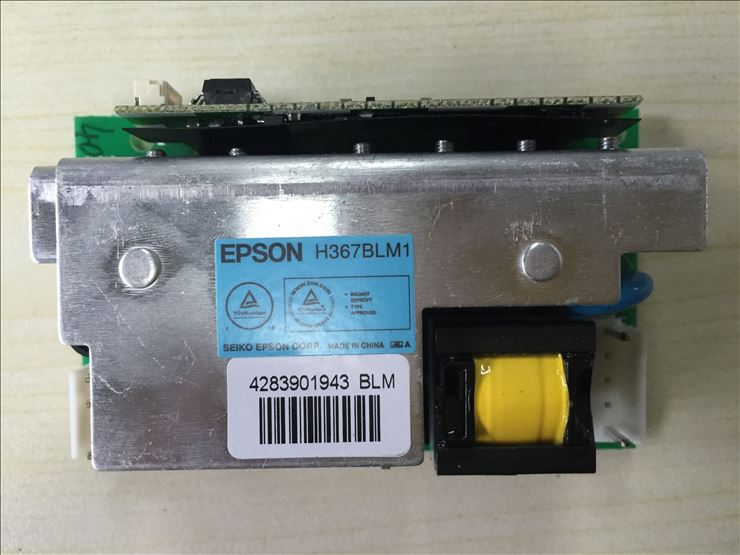 NEW Original H367BLM1(Blue label) ballast board for Epson Series projectors new original pkp k170a ballast board for epson projectors appearance is same can be used directly