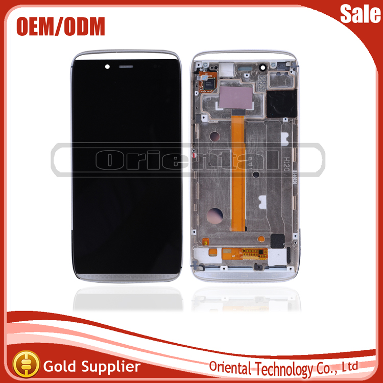 NEW New For Alcatel One Touch Idol alpha OT6032 6032 LCD Display With Touch Screen Digitizer Frame Assemblely Free Shipping