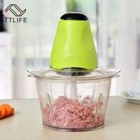 TTLIFE Household Multi function Kitchen Vegetable Chopper Meat Grinder Quick Shredder Cutter Manual Food Processor Kitchen Tool