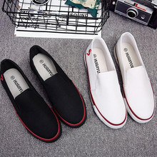 Men's Vulcanized Shoes Spring Autumn Comfortable Casual Shoes Mans Canvas Shoes For Men Slip-On Brand Fashion Flat Loafers Shoe