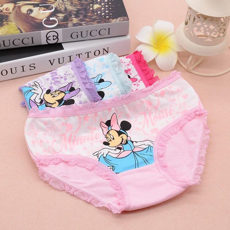 Hot Sale Kids Underwear 4Pcs/lot Baby Girl Underwear Kids Panties Child's For Shorts For Nurseries Children's Briefs