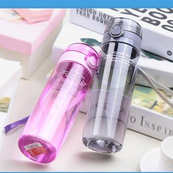 650ml BPA Free Leak Proof Sports Water Bottle High Quality Tour Hiking Portable Bottles
