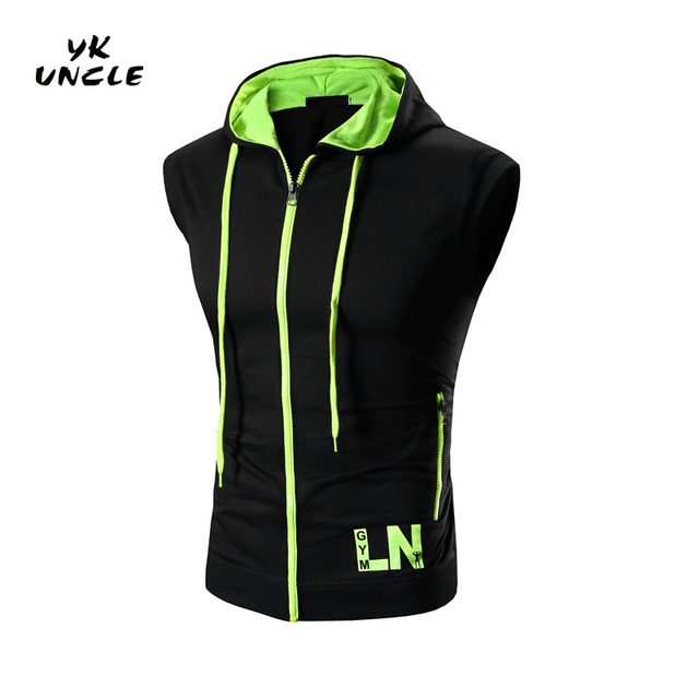 Men Fashion Tank Tops Men's Zipper Tank Top Fitness Stringer Vest Casual T shirts Sleeveless Undershirts Man Singlets,YK UNCLE