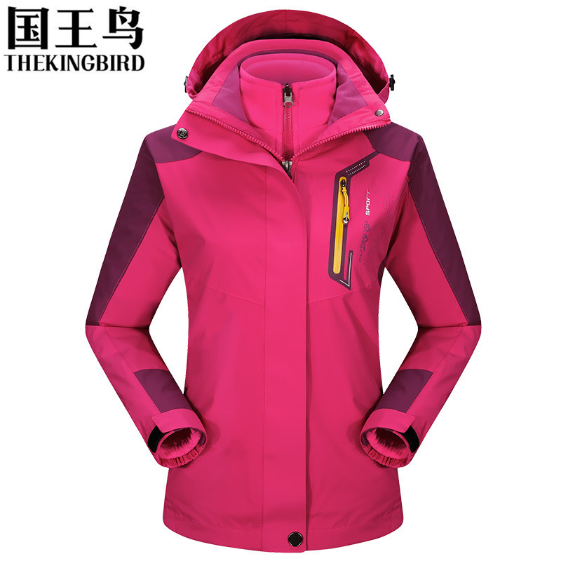 Brand Outdoor soft shell jacket Waterproof sports Women Windproof Climbing Hiking clothes skiing Coats winter jacket 3 in 1 nianjeep brand outdoor jacket waterproof sports men windproof climbing hiking clothes skiing jacket winter jacket 3 in 1 j014