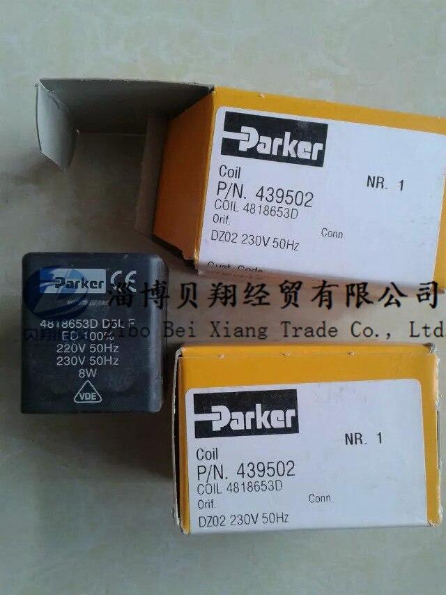 PARKER Pike Solenoid Valve Coil 4818653D DZ023D 220/50 8W genuine original