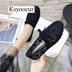 Image 5 - Brand Ksyoocur 2020 New Ladies Flat Shoes Casual Women Shoes Comfortable Round Toe Flat Shoes Spring/summer Women Shoes X01