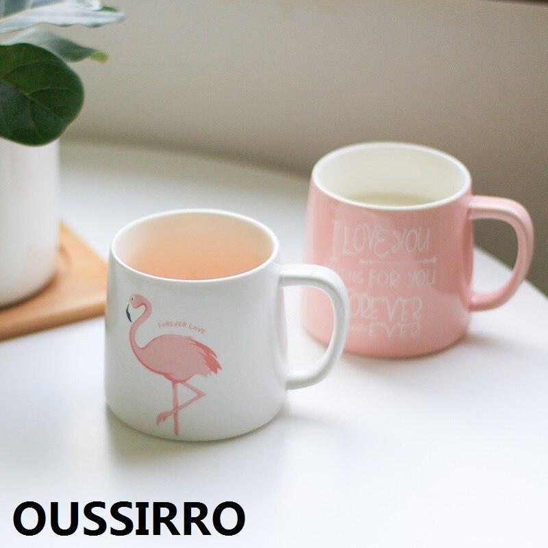 La Chine Rose Unicorn Mug