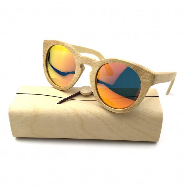 9b86c2f222a 2016 New Model Women Handmade Bamboo Sunglasses Eyewear Eyeglasses Wooden  sunglasses