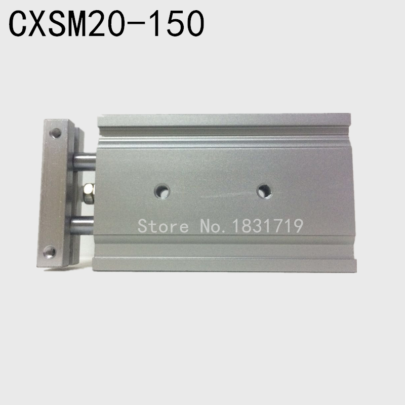 SMC type CXSM20-150 CXSM20*150 double cylinder / double shaft cylinder / double rod cylinder 20mm bore 150mm strokeSMC type CXSM20-150 CXSM20*150 double cylinder / double shaft cylinder / double rod cylinder 20mm bore 150mm stroke