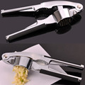 New Stainless Steel Quick Hand Squeeze Garlic Ginger Press Crusher Kitchen Tool 16 x 9.5 x 3.5cm