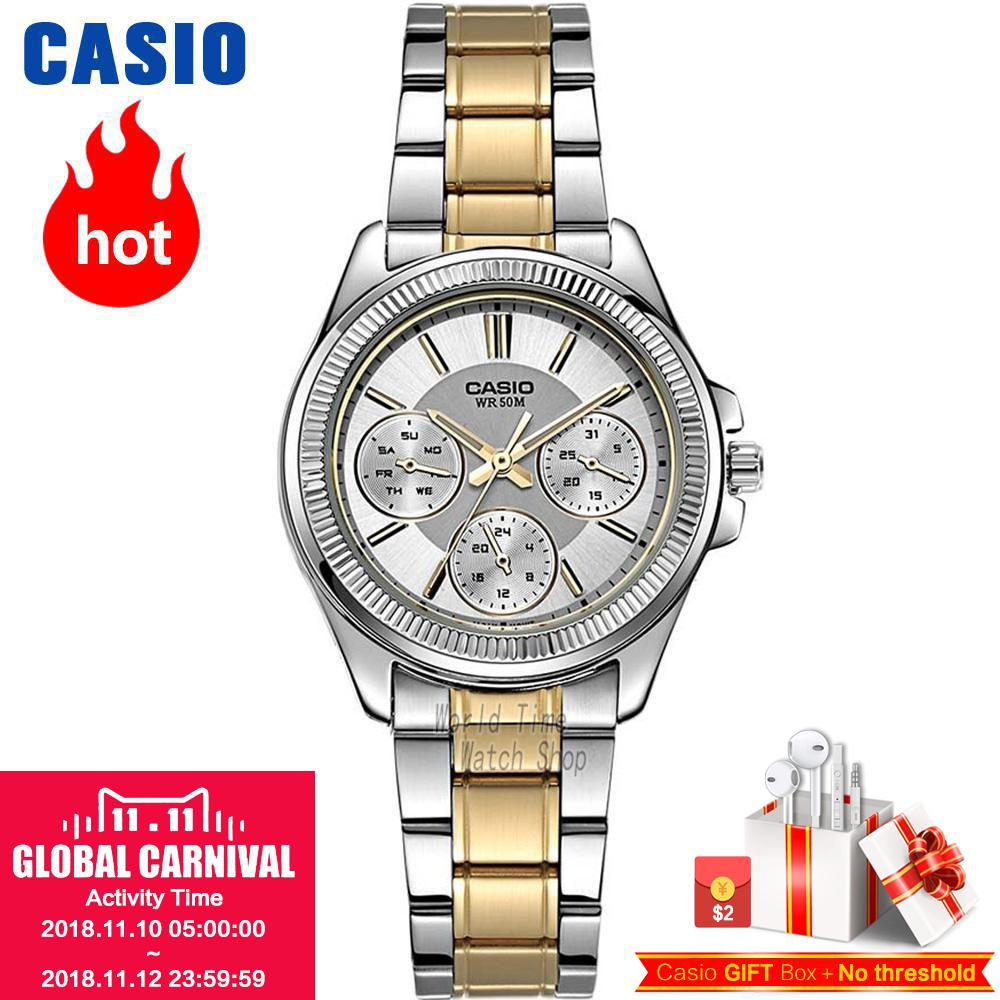Casio watch Fashion casual quartz watch LTP-2088RG-7A LTP-2088D-7A LTP-2088D-1A LTP-2088SG-7A casio ltp e118d 7a