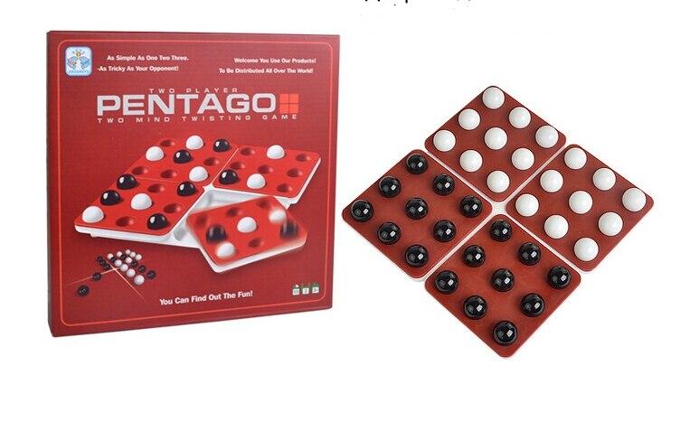 Pentago English Spanish various language magic rotating beads board game rotating gobang ...