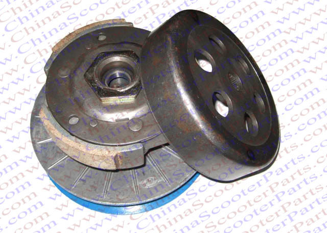 165MM 144MM 16T Clutch Assembly for Linhai Buyang YP Majesty VOG Talon 250 260 300 Roketa MC Scooter ATV Buggy 132mm clutch shoe majesty 250 250cc 260 260cc 300 300cc yp250 jl250 lh300 buyang feishen gsmoon linhai scooter atv quad buggy
