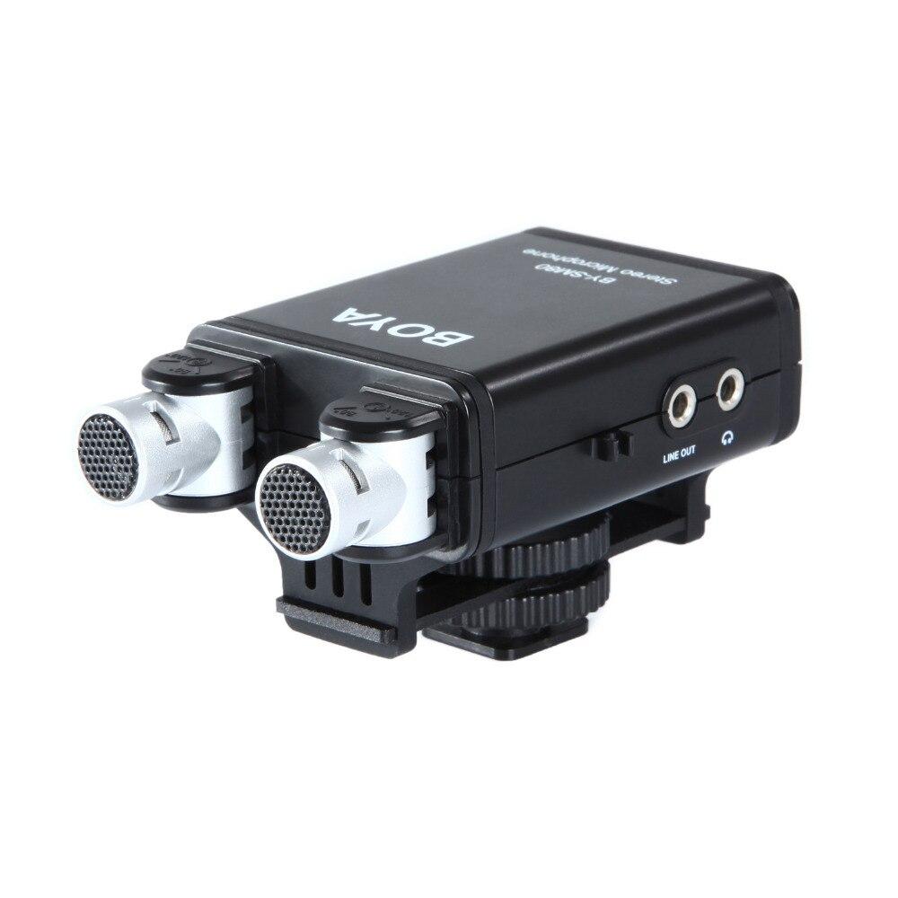 BOYA BY-SM80 PassFilter Stereo kaameramikrofon reaalajas - Kaasaskantav audio ja video - Foto 5