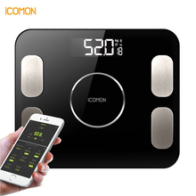 Newest Electronic Smart Body Fat Scales Bathroom Digital Weight Bluetooth Scale Household Bascula digital peso corporal Floor