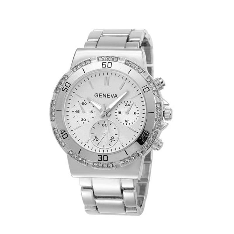 Luxury fashion women crystal rhinestone watches bracelet watches stainless steel quartz analog wrist watch dress watches