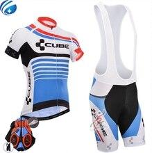 Pro Cube Команда Джерси Велоспорт Одежда Ropa Ciclismo/Гоночный Велосипед для Велоспорта Горный Велосипед Майки Велоспорт Одежда