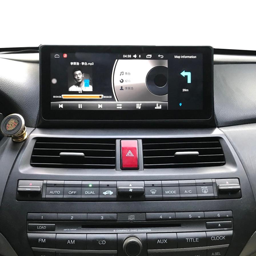 10.25 pouce Android 6.0 Lecteur Autoradio Pour Honda Accord/Crosstour 2008 2009 2010 2011 2012 bluetooth Écran Tactile voiture GPS Wifi