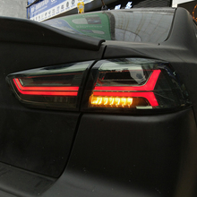 цена на manufacturer for Car Tail light for Lancer LED Taillight 2008-2017 for EVO Tail lamp with LED Moving Signal light