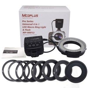 Image 5 - Mcoplus MP MRF32 Macro Ring Flash Light für Nikon Kamera D3100 D7100 D7000 D5500 D5200 D5100 D5300 D3200 D3300 D3400 als FC 100