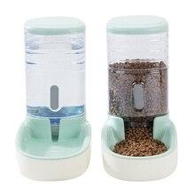3.8л два стиля ПЭТ автоматическая кормушка маленький размер большой емкости кошка бутылочка для подачи воды в Поильник для собак с нескользящей основой ПЭТ контейнер для еды
