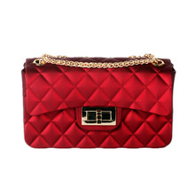 Female Bag 2019 New Fragrant Bag Female  Straddle Mini Bag Linger Chain Jelly Bag