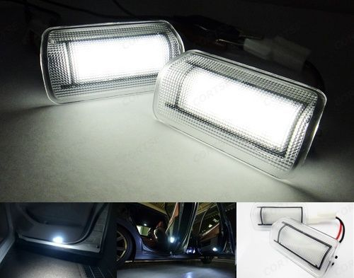 Super bright 6000K white car LED Door Courtesy Light for TOYOTA Wish Prius Camry alphard Isis