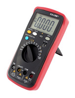 Digital Multimeter Multi Meter AC DC Voltmeter Ohmmeter Ammeter Temperature Frequency Capacitance Resistance Tester With Battery