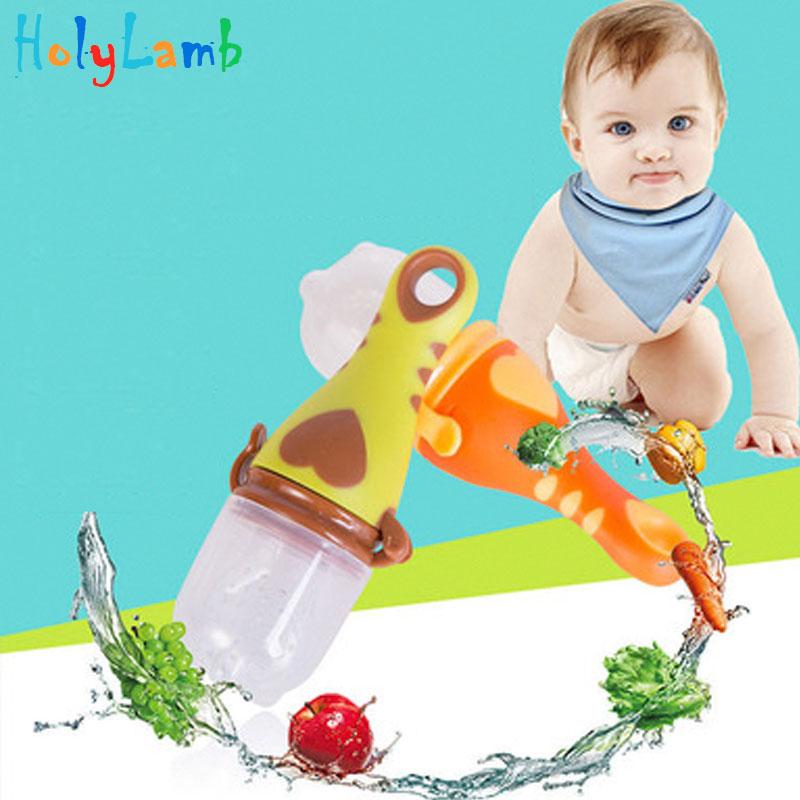 2018 1Pcs Food Nibbler Baby Pacifiers Nibler Nipple Pacifiers For Baby Fruit Feeder Nipples Feeding Safe Nipples For Newborns