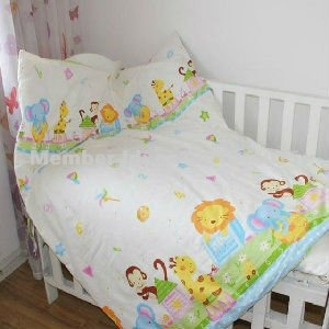Free shipping~Designer 100%Cotton 10pcs baby quilt cover set/baby ... : baby quilt sets - Adamdwight.com