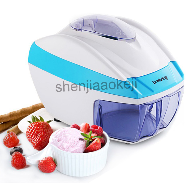 Household Electric Ice Crusher Small Smoothie machine 220v 35w 1pc Automatic Commercial Tea Shop Ice Chopper