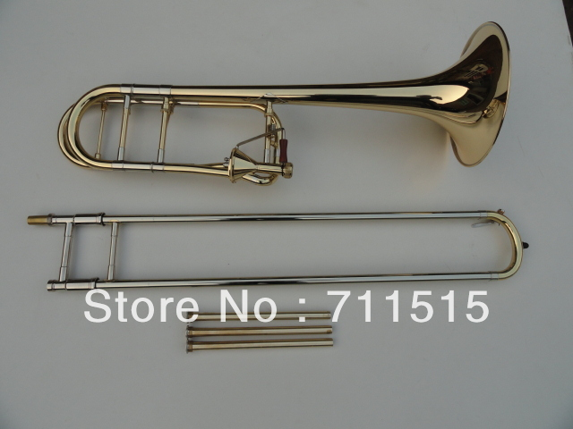 Brugerdefineret Bb-trombon T 42 B Tenor-tromboner messingbelagte tubasinstrumenter Musicais Profissional