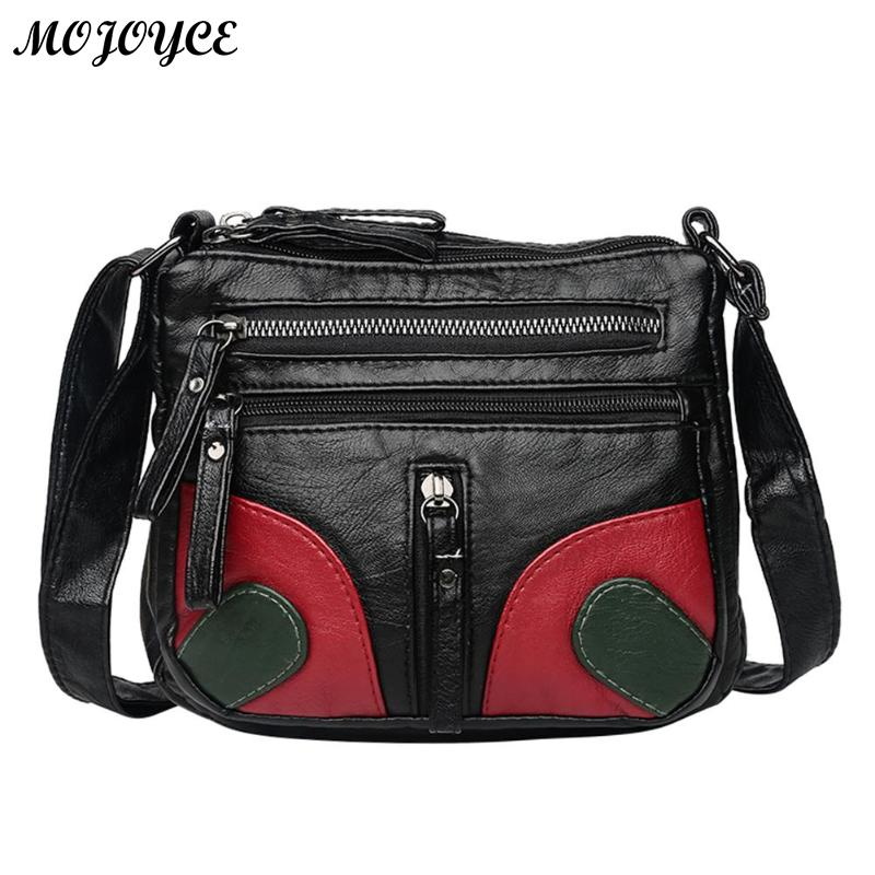 Vintage Soft PU Leather Handbags Casual Women Girls Shoulder Messenger Bags  Features  The fashion version of the type concise but not simple 307b586f74f87