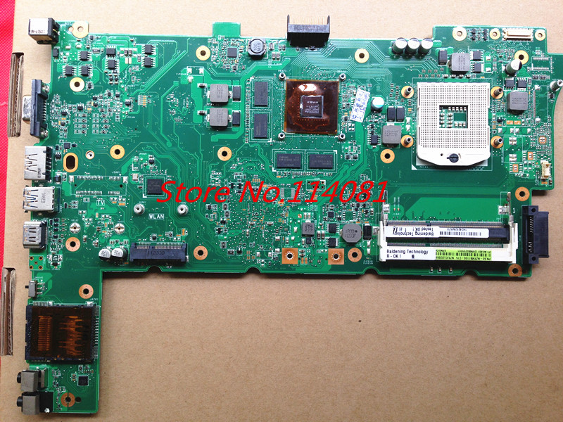NEW Suitable for asus notebook motherboard N73JQ ( i7 processor ) N73JF REV 2.1 GT525M DDR3,perfect item