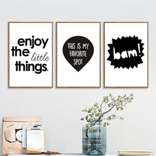 Boys Rule Quotes Print on Canvas Painting Nursery Black and White Posters and Prints Wall Art Pictures for Kids Room Home Decor