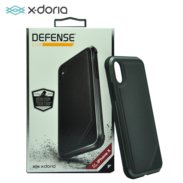 release date 3e259 ff2a0 US $26.99 |X doria Defense Lux Case for Apple iPhone X Military Grade Drop  Tested, TPU & Aluminum Premium Protective Cover-in Half-wrapped Case from  ...