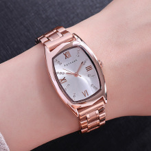 Women 's Stainless Steel Band Luxury Watches Women Dress Bracelet Watch Fashion Quartz Wrist Watch Clock Relogio Feminino