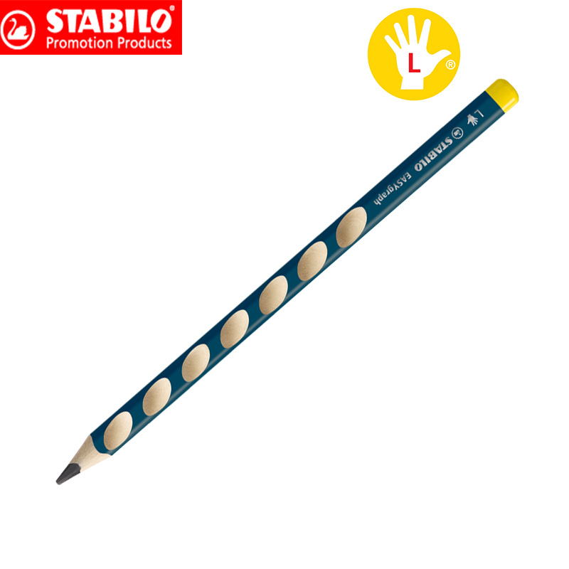 RIGHT HANDED OR LEFT HANDED EASYGRAPH 1-2 5 STABILO EASYGRAPH PENCILS HB