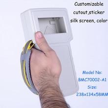 free shipping abs plastic handheld enclosures box house plastic electronic slingbox 238x134x58 mm
