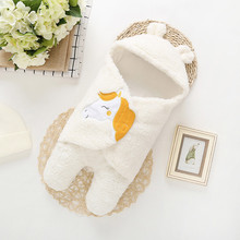 Детское Пеленальное Одеяло для сна, зимнее милое детское теплое Пеленальное Одеяло с рисунком лошади для новорожденных