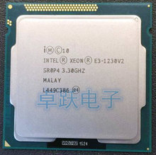 המקורי Intel Xeon מעבד E3 1230v2 E3 1230 v2 8M מטמון, 3.30 GHz Quad Core מעבד LGA1155 שולחן עבודה מעבד E3 1230V2