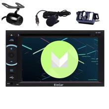 Free Front & Backup Camera+Quad Core Android 6.0 Car DVD Player Double Din Car Stereo with GPS Navigation In Dash Bluetooth WiFi