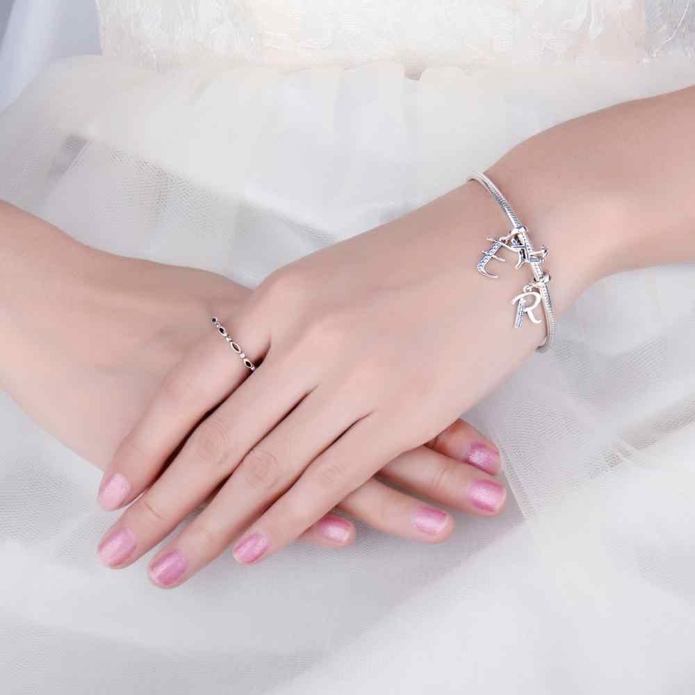 JewelryPalace 925 srebro plaża wisiorki z koralikami srebro 925 oryginalna bransoletka Fit srebro 925 oryginalne koraliki tworzenia biżuterii