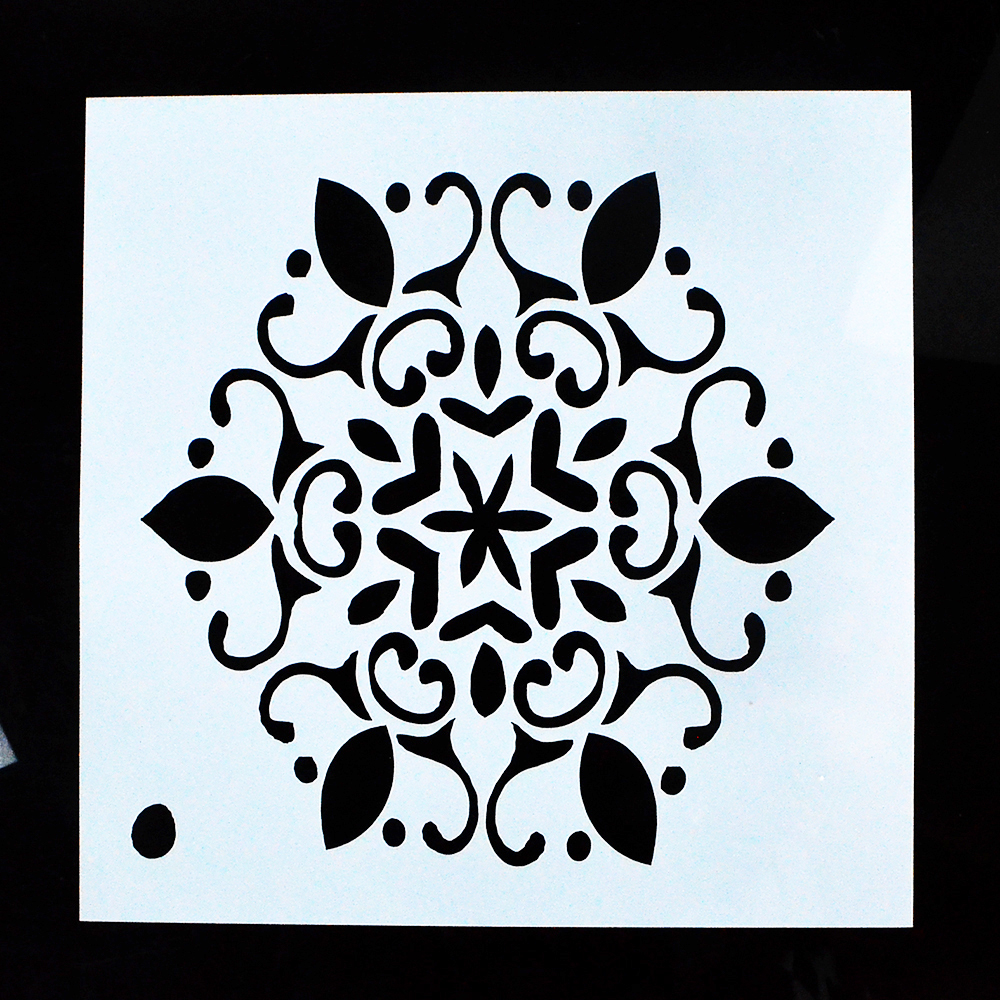 DIY Crafts Layering Stencil for Painting Scrapbooking Embossing Gift ...